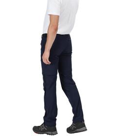 Regatta Xert III Stretch Pantalones Zip-Off Hombre, navy